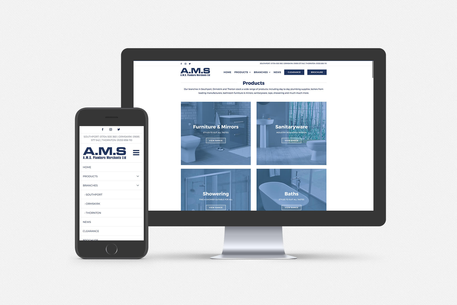 New Ams Plumbers Website Ams Plumbers Merchants Limited